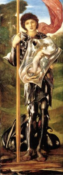 Burne Jones Saint George 1873 77